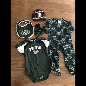 NY Jets NFL Infant Set 0-3 months